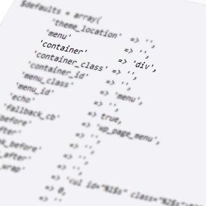 Аргументы функции wp_nav_menu