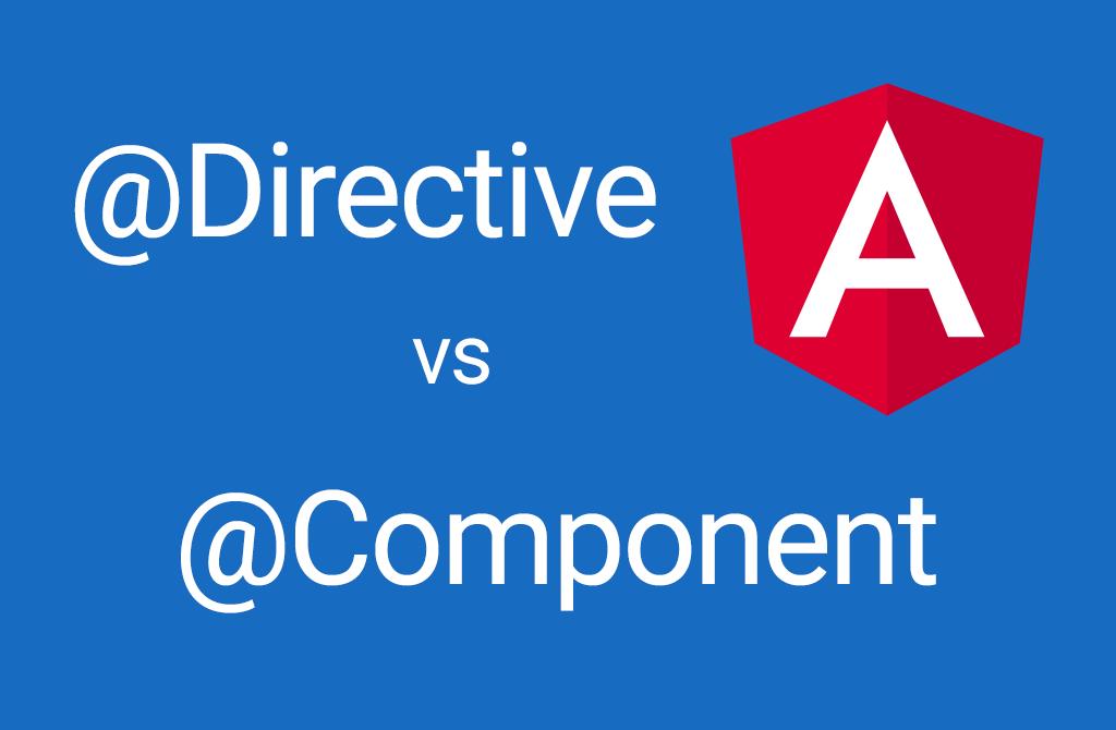 Разница между @Component и @Directive в Angular