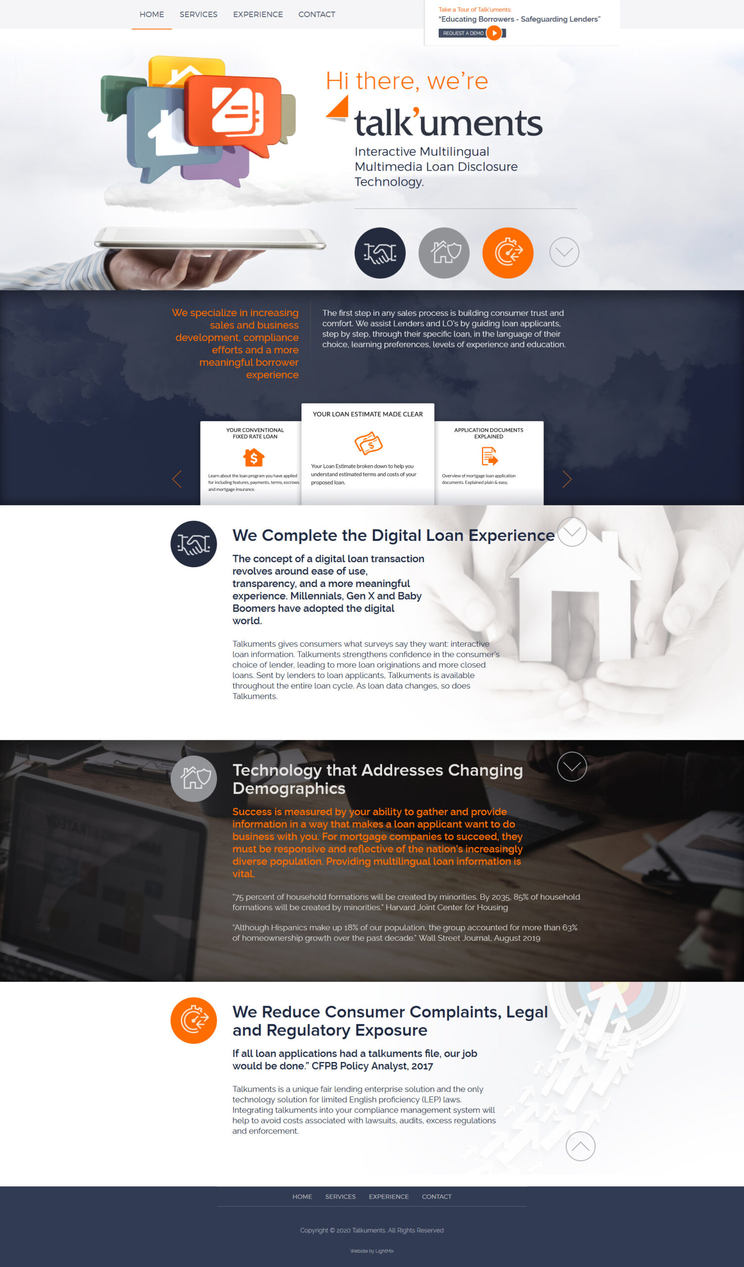 WordPress сайт для кредитного консультанта