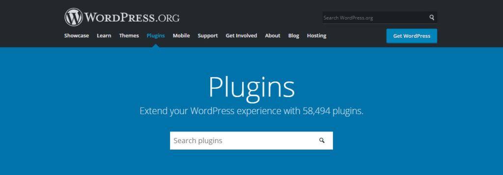 Библиотека плагинов WordPress