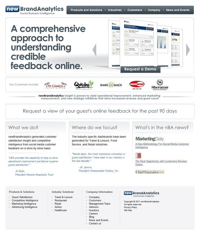 Website design for html/css-шаблоны для сайта аналитической компании