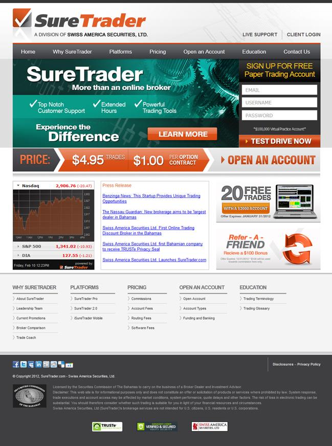 Website design for Сайт для инвестиционной компании